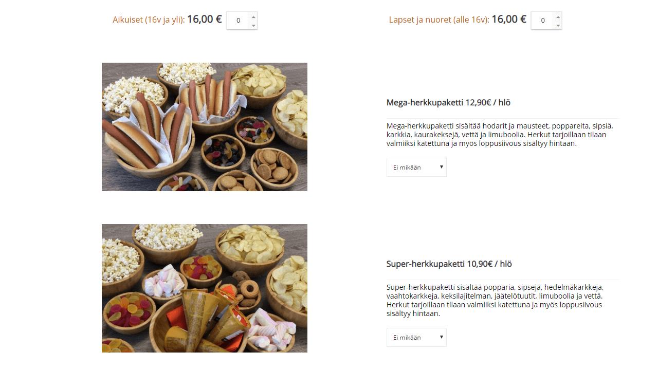 Irti Maasta product detail UX